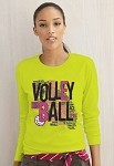 Speak Volleyball Long Sleeve Tee