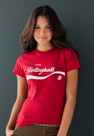 Enjoy Volleyball Tee Shirt