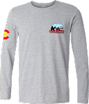 2020ne Colorado Crossroads Long Sleeve T-Shirt in Sports Gray
