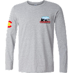 2020 Colorado Crossroads Long Sleeve T-Shirt in Sports Gray