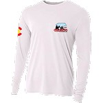 2020 Colorado Crossroads Long Sleeve Dry Fit T-Shirt in White