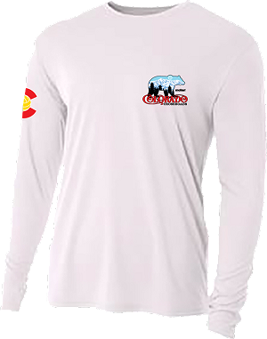 2020ne Colorado Crossroads Long Sleeve Dry Fit T-Shirt in White